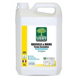 Liquide vaisselle manuel L'arbre Vert - bidon 5L