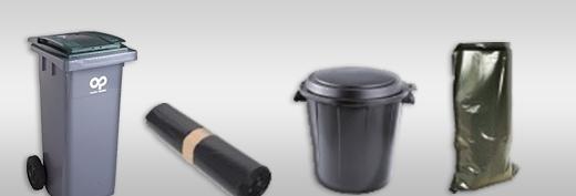 Sacs et conteneurs à déchets